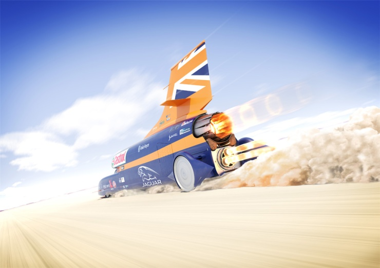 Bloodhound SSC rear